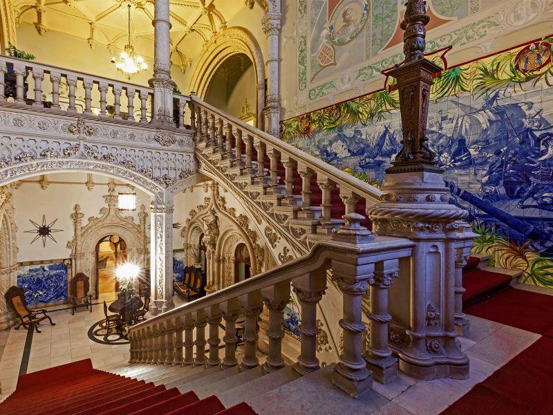 lugares em Portugal saídos de contos fadas