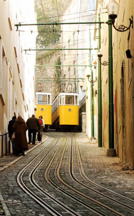 elevadores de Lisboa