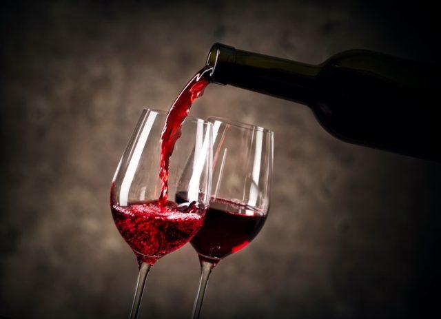 ouro em Itália para vinho tinto