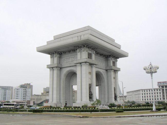 arcos arquitetónicos mais famosos