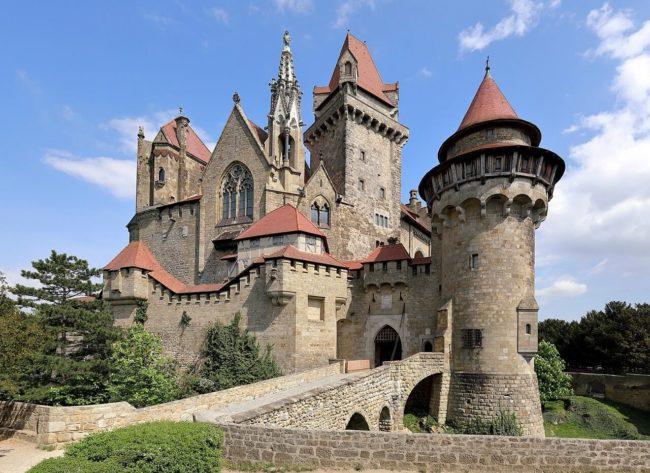 13 castelos saídos de um conto de fadas