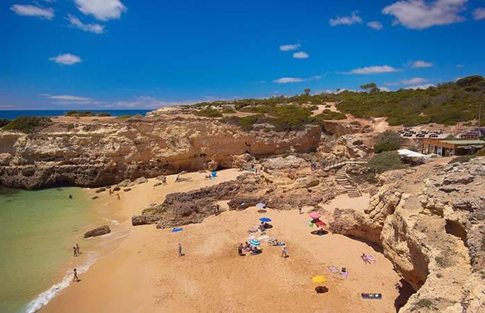 As 10 praias mais exclusivas do Algarve