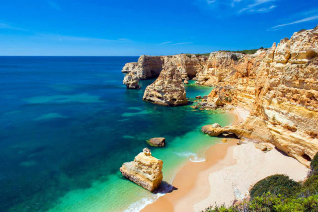 praias mais exclusivas do Algarve