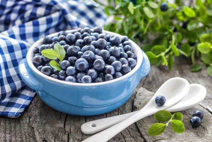 receitas fáceis e saudáveis de Mirtilo