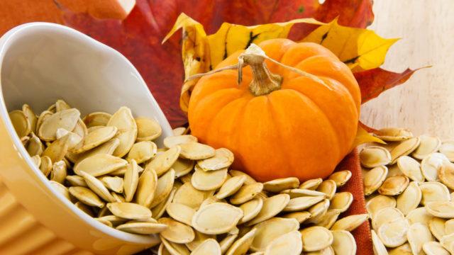 benefícios das sementes de abóbora