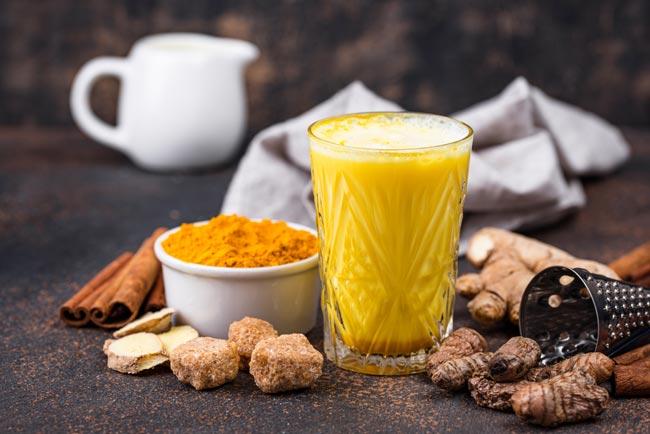 Benefícios do golden milk