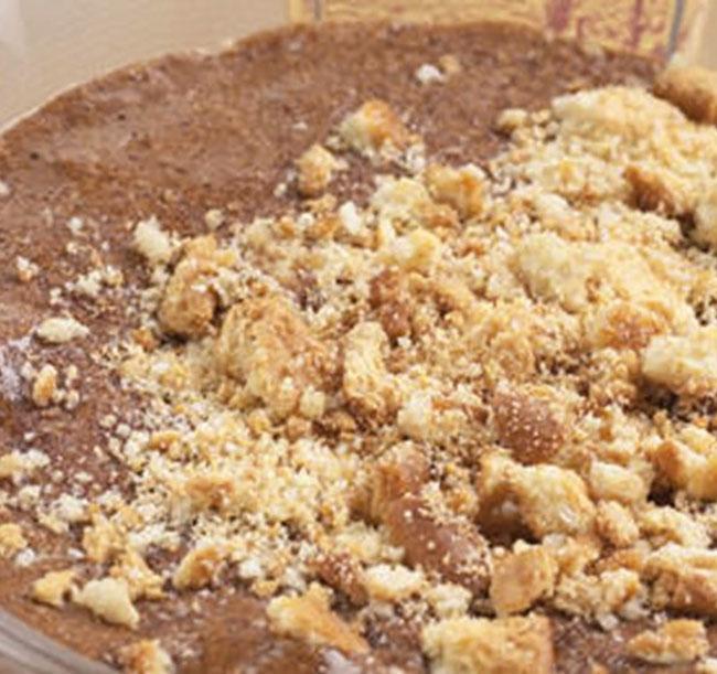 Mousse de Chocolate fácil e caseira