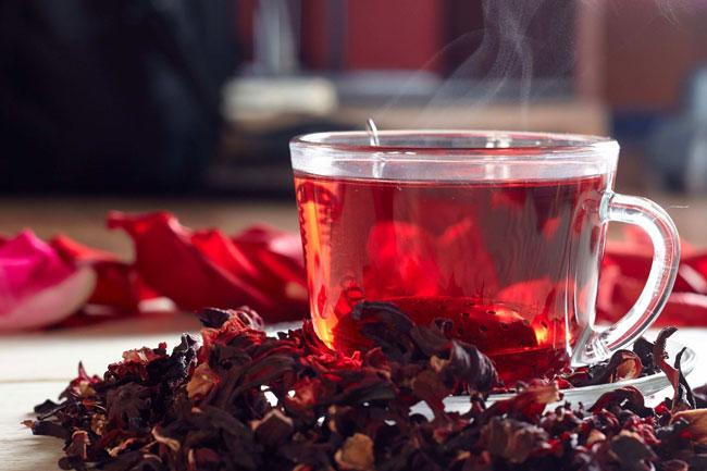 Chá de Hibisco para que serve