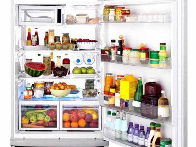 nunca deve colocar no frigorífico