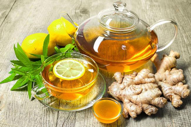 Como fazer Chá de Gengibre e limão, canela e mel (6 receitas) | ncultura