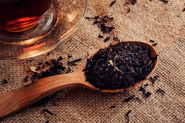 Chá preto para que serve