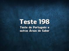 Quiz ou Teste de Português 198
