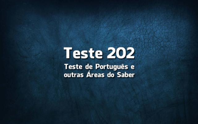 Quiz ou Teste de Português 202