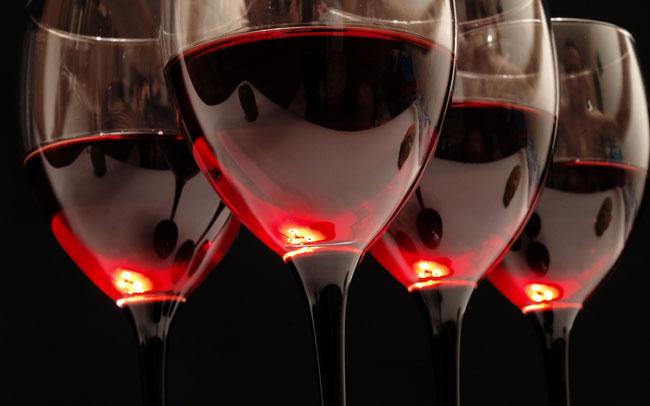 copo de vinho tinto por dia