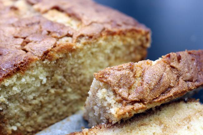 receitas de bolo simples de canela