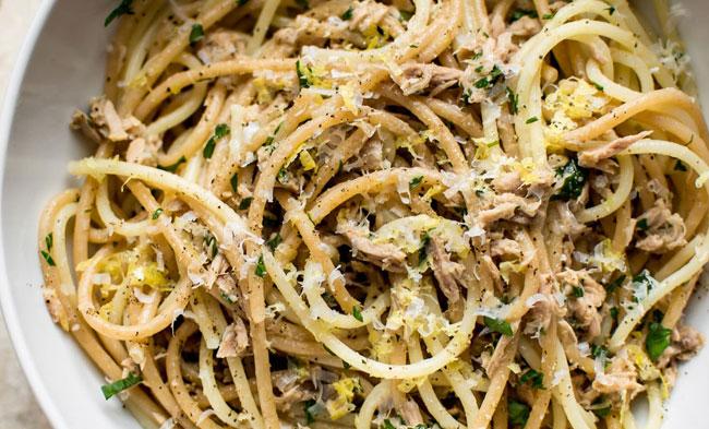 4 Receitas com esparguete