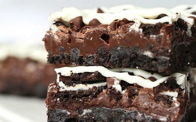 Receitas de bolo de bolacha de chocolate