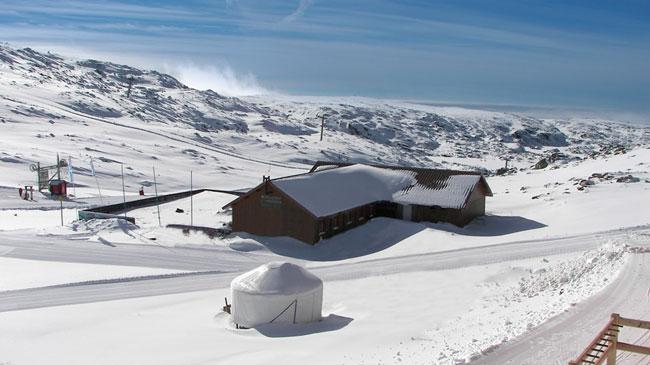 esquiar em família à Serra da Estrela