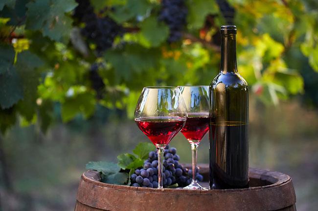 grandes benefícios do Vinho Tinto