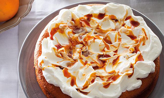 bolo de laranja com iogurte