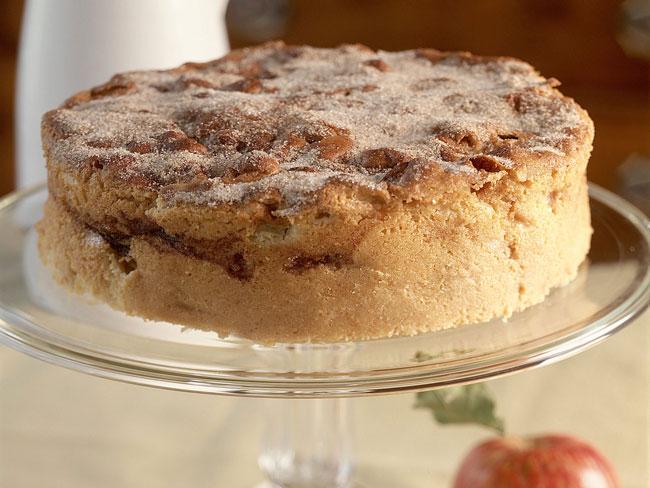 bolo de maçã Granny Smith
