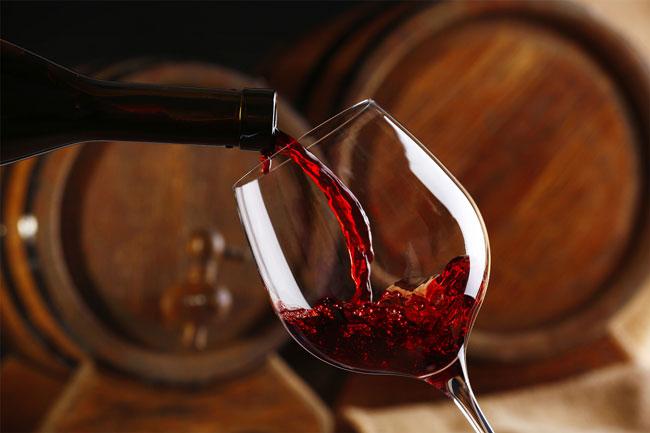 Alho e vinho tinto