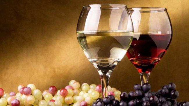 Vinho Tinto e branco são bons para o coração