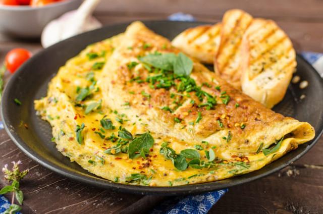 receitas de omeletas