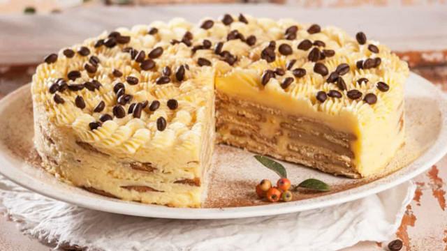 bolo de bolacha com manteiga