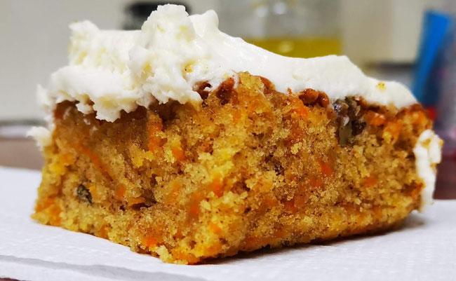 receitas de bolo de cenoura