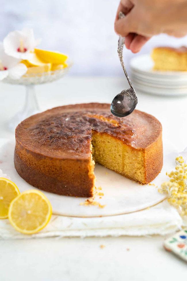 bolo de laranja e limão