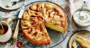 receitas de bolo de maçã húmido