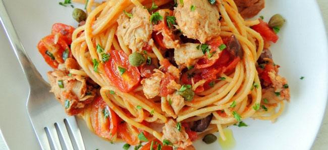 6 receitas de massa com atum