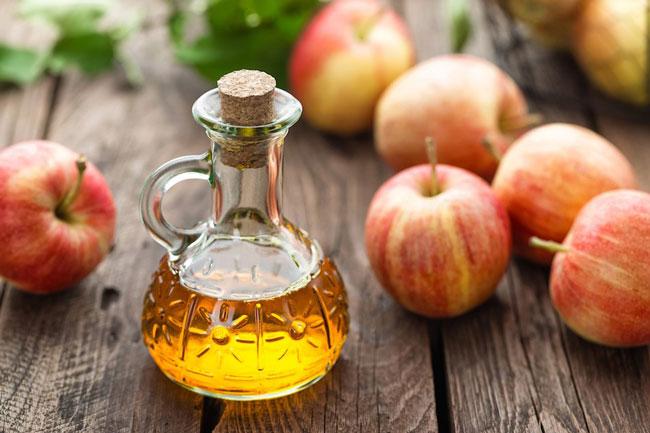 colher de sopa de vinagre de maçã