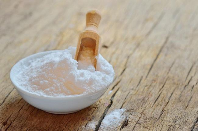 beber um pouco de bicarbonato de sódio