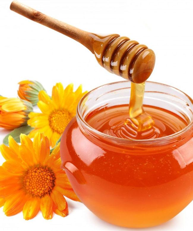 comer meia colher de sopa de mel