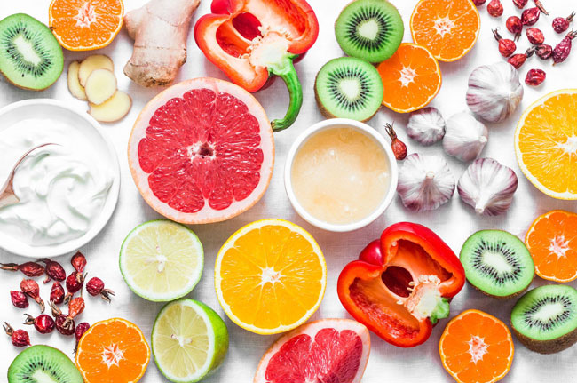 alimentos que fortalecem o sistema imunitário