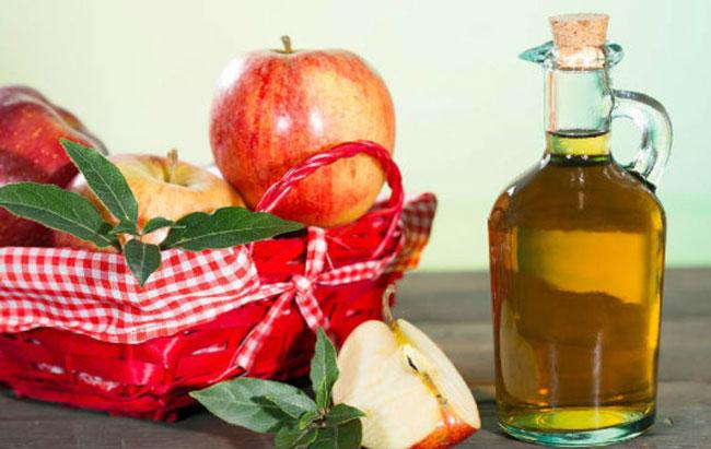 Vinagre de maçã e bicarbonato de sódio