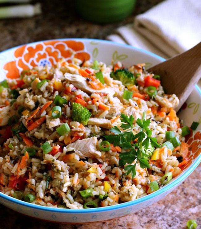 receitas de arroz de atum
