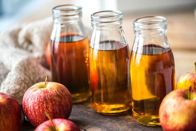 vinagre de maçã e alho