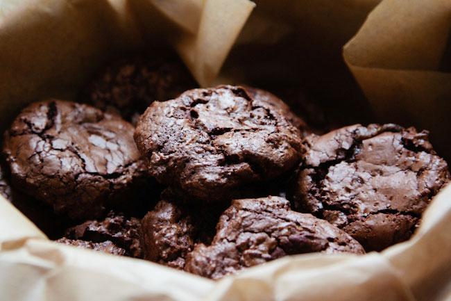 bolachas de chocolate