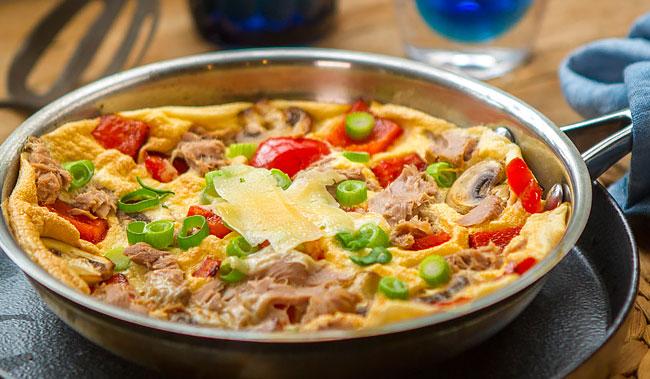3 receitas de omeleta no forno práticas e deliciosas