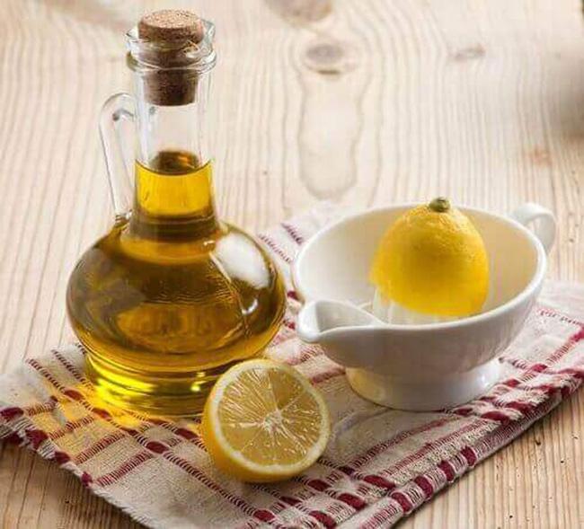 benefícios do azeite com sumo de limão