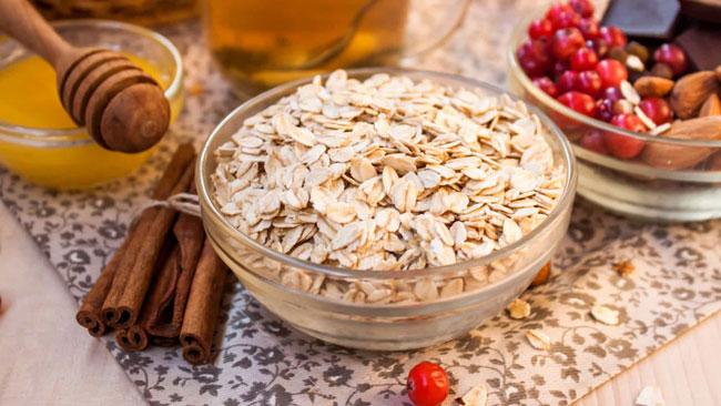 benefícios se comer aveia