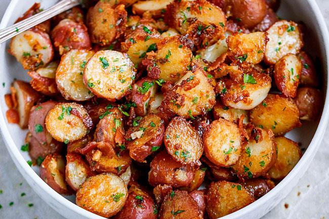 dicas para fazer batatas assadas