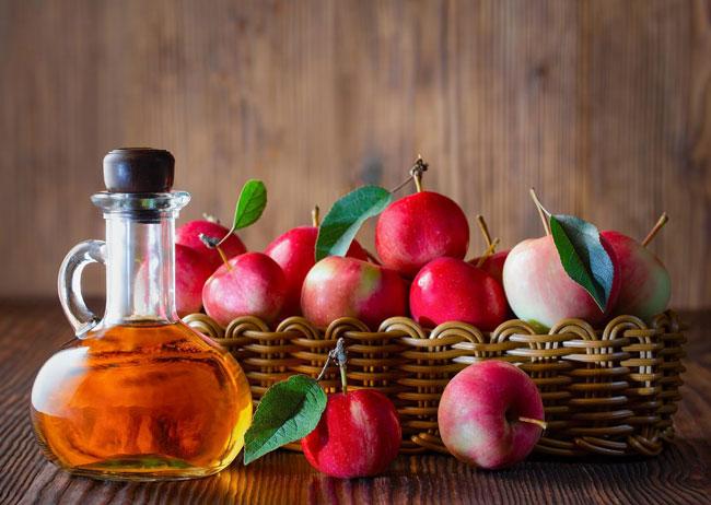 vinagre de maçã no banho