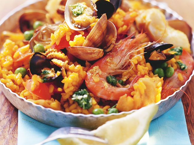 receitas de Arroz à Valenciana