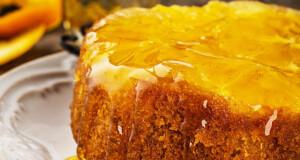 4 receitas de bolo de laranja