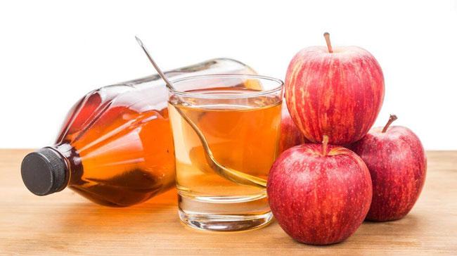 Vinagre de maçã ajuda a desinchar