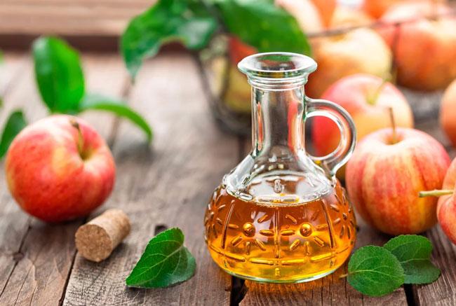 toma vinagre de maçã